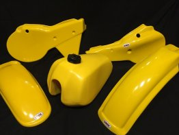 sold out till 12-23-19 1980-81 Yamaha YZ 250/465 Plastic Fender kit and tank in Yellow