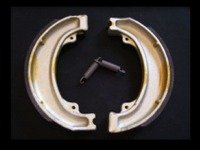 CR125 1979-82 Rear Brake Shoes